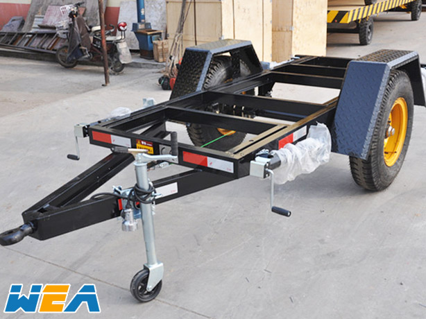 Caravan\'s box Frame trailer-WEA(JIANGSU) Industry CO., Ltd,